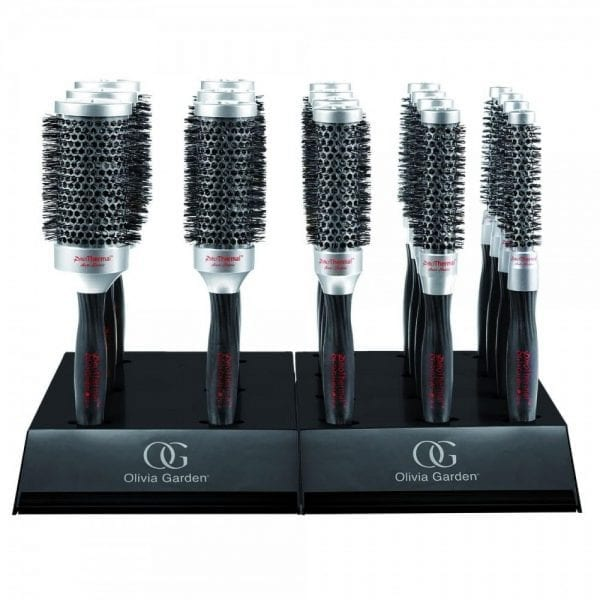 Olivia Garden Pro Thermal Retail Display (18 Brushes)